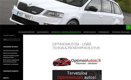 Optimoi autosi