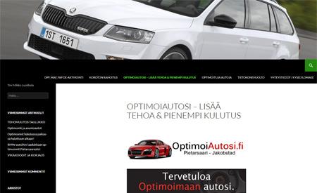 Optimoi autosi